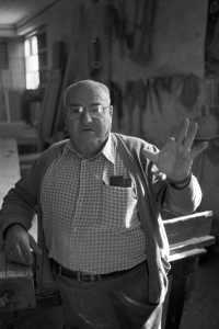 """El carpintero Paeeita, de la serie """"Homenaje a Carmona""""."""