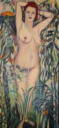 Rousseaus Venus, 60x1,20,2014.